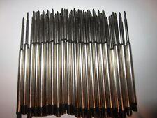 20 Ballpoint Pen Refills for WATERMAN * BLACK MEDIUM