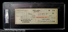 CECIL B. deMILLE-Rare Fully Signed Business Check-PSA DNA Encapsulated-Director