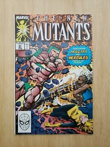 New Mutants #81 (Marvel 1989) Louis Williams Hercules Cover