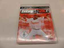 PLAYSTATION 3 PS 3 Major League Baseball 2k11
