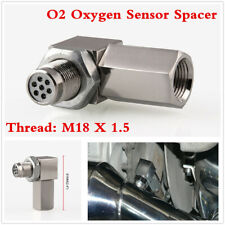 90° O2 Sensor Catalytic Converter Spacer Bung For Check Engine Light CEL Remove