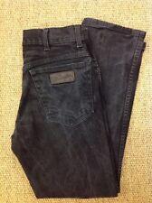 "men's WRANGLER 30""W 29""L Black Texas Stretch Jeans. Great condition."