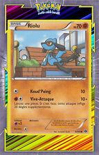 🌈Riolu - NB04:Destinées Futures - 63/99 - Carte Pokemon Neuve Française
