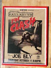 Clash Locandina Concerto Live at Hollywood Palladium L.A. 1981