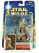 Hasbro Star Wars Aotc Luke Bespin Duel W/ Stump Attack Of The Clones Moc Figure
