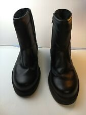 Totes STADIUM Mens Black WATERPROOF  Side Zip up Boots Size 11 Medium Pre-owned