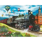 Full Drill Diamond Painting Embroidery Cross Stitch Train Embroidery Home Decor