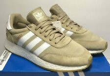 Adidas Mens Size 9 Orginals I-5923 Boost Gold Trainers Running Shoes B27874