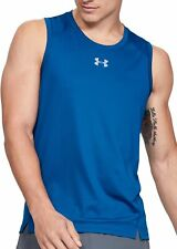 Under Armour Qualifier Mens Running Vest - Blue