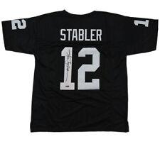 new product f5ebf 6cf11 Ken Stabler Oakland Raiders NFL Original Autographed Items ...