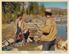 JOEL MCREA Original Vintage 1962 RIDE THE HIGH COUNTRY MGM Western Color Photo