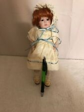 "10"" K * R Simon Halbig Bisque Red Haired Doll 117"