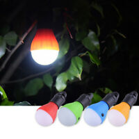 New Hanging 3-LED Camping Tent Light Bulb Fishing Lantern Lamp Outdoor Emergency