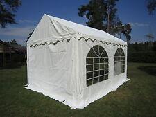 3x4 m Partyzelt Verkaufszelt Marktzelt  Pavillon  Zelt  PVC weiß wasserdicht