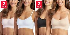 SALE! Jockey Ladies' 2-pack Seamfree Stretch Bralettes Size/Color VARIETY C41