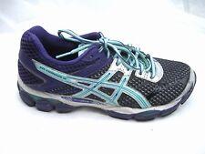 Asics sz 9M Gel-Cumulus 16 purple green running womens ladies sneakers shoes