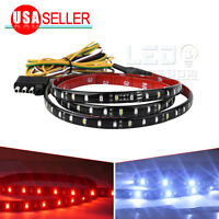 1.2M LED Tailgate Light Strip Truck Red/White Reverse Brake Turn Signal Lightbar