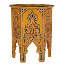 Beistelltisch Nachttisch Couchtisch Holz Orientalisch Tisch Handarbeit Betttisch