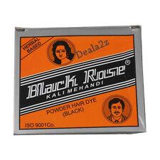 5 X 10gm Sachet Black Rose Kali Mehndi Mehandi Black Henna Herbal Hair dye