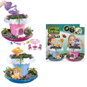 Kids Create your Own Garden Gift Boys Girls Growing Plants Kit Seeds Tools