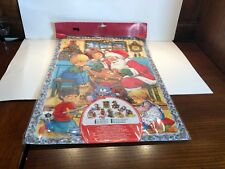 Moldow 3-D Advent Calendar, Santa, Children, Toys, Denmark Disney Stickers