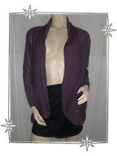 Gilet Cardigan Fin Fantaisie Purple Modèle F2TIMCR DDP Taille XS Neuf