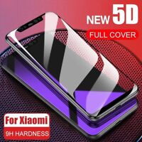 Full Cover Tempered Glass Screen Protector For Xiaomi 8 Redmi 5 5A Note 6 Pro AU