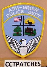 ASH GROVE, MISSOURI POLICE SHOULDER PATCH MO