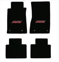 Lloyd CLASSIC LOOP Black FRONT FLOOR MAT SET for 1984 to 1996 Chevrolet Corvette