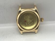 48S VINTAGE ROLEX BUBBLEBACK 18K CASE + CROWN 3131 MEN'S WATCH