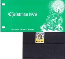 Isle of Man 1978 Christmas Presentation Pack
