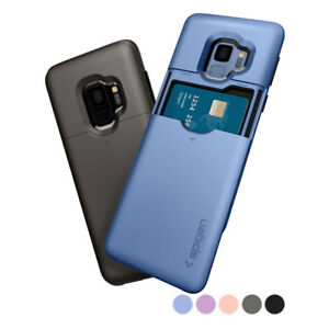 Galaxy S9 / S9 Plus | Spigen® [Slim Armor CS] Card Slot Wallet Cover Case