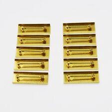10 X Medal Ribbon Mounting Bars Brooch Pin Fixing for 35 36 37 38mm Ribbon!