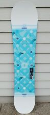 NWOT 2016 WOMENS SALOMON LIBERTY 140 SNOWBOARD $275 Board