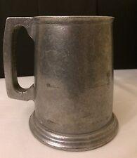 Vintage WILTON RWP Pewter Beer Stein Mug Tavern Tankard Columbia PA Made USA
