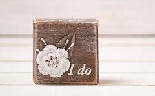 Engagement Ring Box, Proposal Box, Wedding Ring Box, Ring Pillow, Ring Bearer