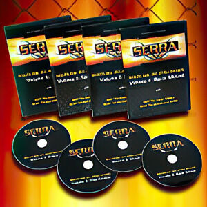 Matt Serra Brazilian Jiu-Jitsu Basics 4 Dvd Set (No-Gi) MMA BJJ (Rare)