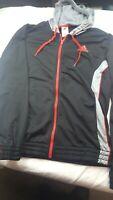 Men's  Adidas  Athletic Wear Long Sleeve Hoodie Jacket Full Zip 1 pocket