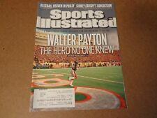Sports Illustrated  Oct. 2011 Walter Payton