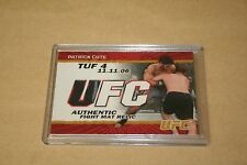 Patrick Cote 2009 Topps UFC Fight Mat Relic # FM-PC  # 161/199