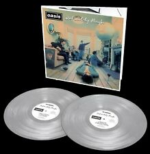 OASIS LP x 2 Definitely Maybe SILVER VINYL 25th Anniversary Limited Ed. IN STOCK