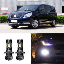 Canbus H3 3030 21SMD LED DRL Daytime Running Fog Lights Bulbs For Buick GL8 2014
