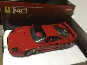 Kyosho 1:12  Ferrari F40 Rosso Corsa Die Cast Model Series Red Used Japan F/S