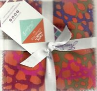 Kaffe Fassett Collective Spng 2018 brite 5 in squares charms Free Spirit fabric