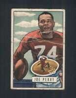 1951 Bowman #105 Joe Perry G 49ers 100887