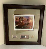 RW87 2020 - Federal Duck Stamp Print **EDDIE LEROY** NICELY FRAMED!