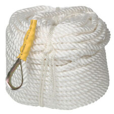 1/2''x300' Twisted Three Strand Nylon Anchor Rope Boat Sailboat with Thimble