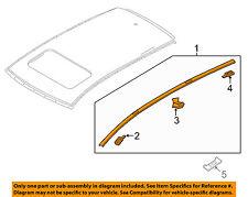 MAZDA OEM 16-18 CX-9-Roof Molding Trim Left TK48509L0A