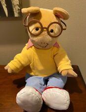 """Arthur the Aardvark ActiMates Interactive Talking Plush Toy Animal 22"""" Works"""