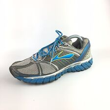 Brooks Trance 12 Running Shoes Gray Blue Yellow Womens 10.5 B US 42.5 EU